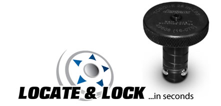 Locate & Lock! The Ball Lock Mounting System