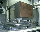 Zero Point Mounting System - Ideal solution for large, heavy workpieces.